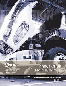 Preventive Maintenance for Emergency Services