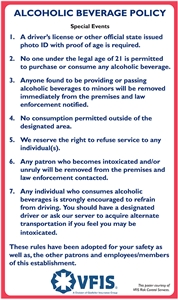 Alcohol Policy Kit for Special Events