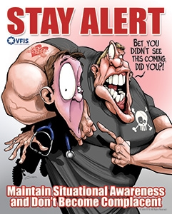 Maintain Situational Awareness Poster (16x20)